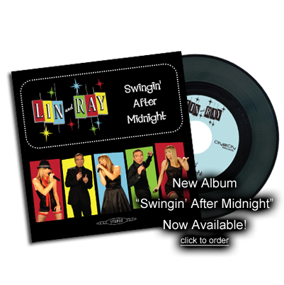 New Album Swingin' After Midnight Now Available! - Click To Order
